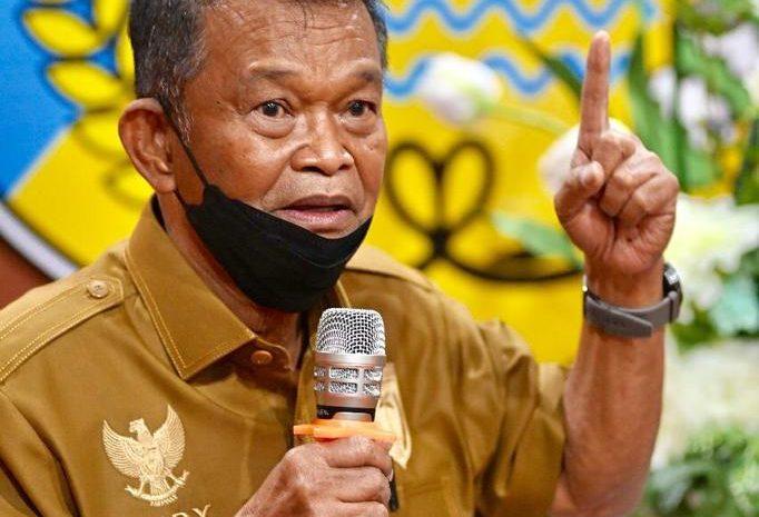 Gubernur Sulawesi Tengah H. Rusdy Mastura, Meminta Dukungan Seluruh Insan Pers dan Media Untuk Mensosialisasikan Agar Masyarakat Mematuhi Protokol Kesehatan.