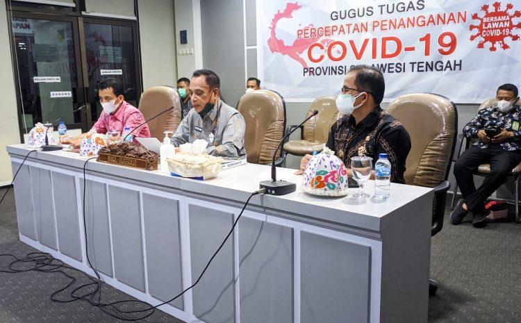Wagub Provinsi Sulteng Ikuti Rapat Paripurna DPRD Tentang Pembahasan dan Penetapan Rancangan Awal RPJMD Provinsi Sulteng Tahun 2021 – 2026.