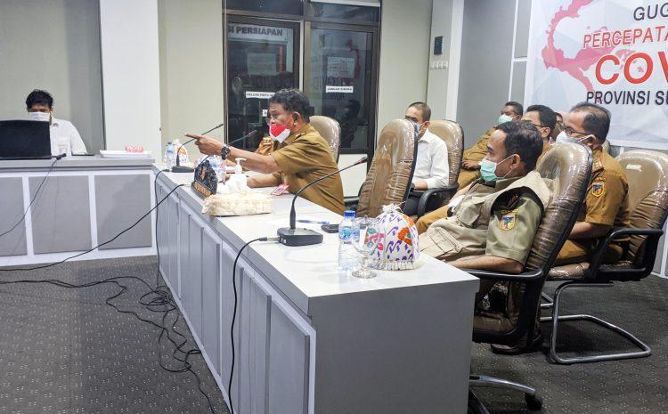 Gubernur Provinsi Sulteng Beri Arahan Pada Rakor Dinas PMD Tingkat Provinsi Sulteng.