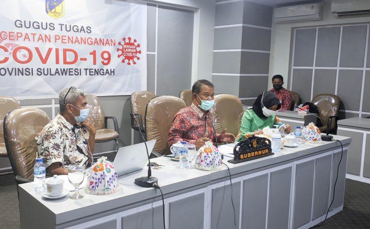 "Gubernur : ""Sulteng Menuju Smart Village, Sulteng Adil dan Sejahtera"" Pada Webinar Nasional Seri #2."