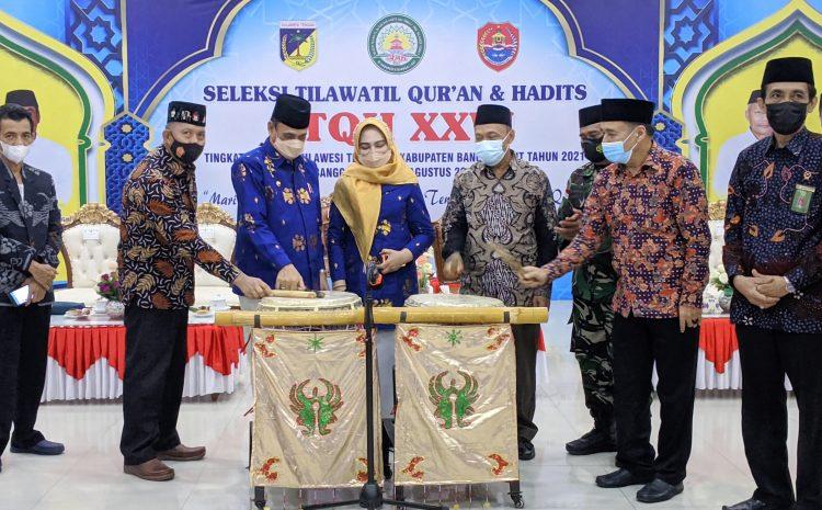 Wagub Sulteng Tutup Secara Resmi STQH XXVI Tingkat Provinsi Sulteng di Kabupaten Banggai Laut Tahun 2021.