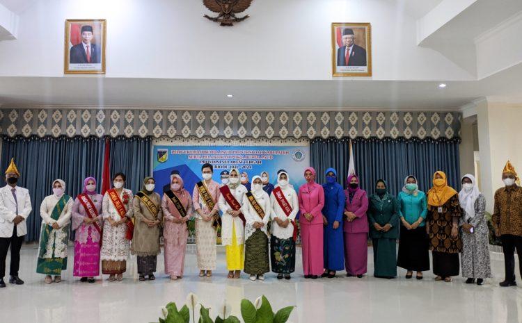 Gubernur Sulteng Lantik Bunda Paud Provinsi, Kabupaten dan Pokja Paud Periode 2021-2024.