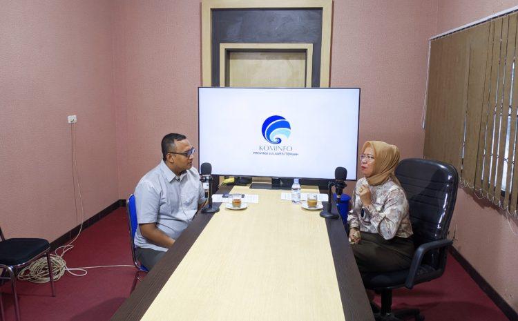 Podcast : Kadis Kominfo Bahas Kelanjutan Seleksi Komisioner KI dan Pelaksanaan Seleksi KPID Sulteng.