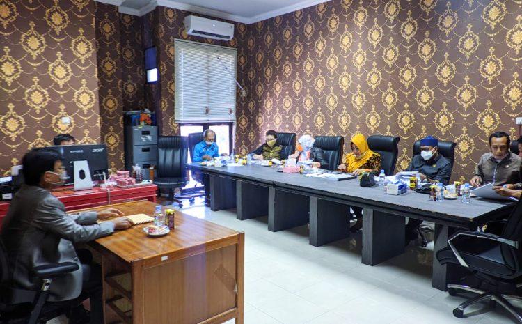 DPRD Provinsi Sulteng Adakan Seleksi Uji Kepatutan dan Kelayakan Para Calon Komisioner KI Periode 2021-2025.